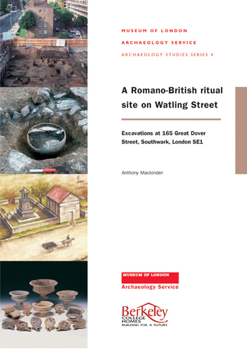A Romano-British cemetery on Watling Street: excavations at 165 Great Dover Street, Southwark, London