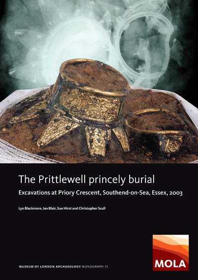 The Prittlewell princely burial: excavations at Priory Crescent, Southend-on-Sea, Essex, 2003