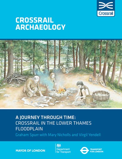A journey through time along the Crossrail south-east line: understanding the evolution of the lower Thames