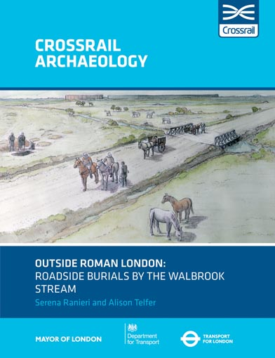 Outside Roman London: roadside burials by the Walbrook stream