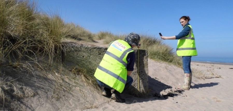 Recording coastal and intertidal archaeology CITiZAN app