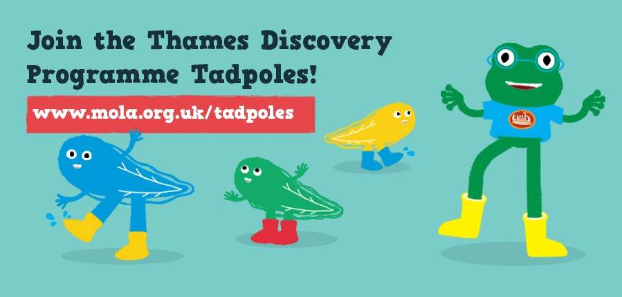 Thames Discovery Programme TDP Tadpoles