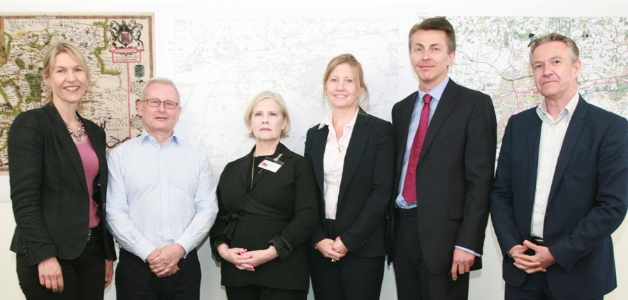 Basingstoke debate panellists (c) MOLA