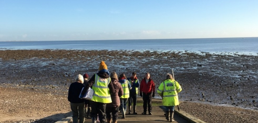 CITiZAN Volunteers record archaeological features at Mersea Island Foreshore Coastal and intertidal archaeology