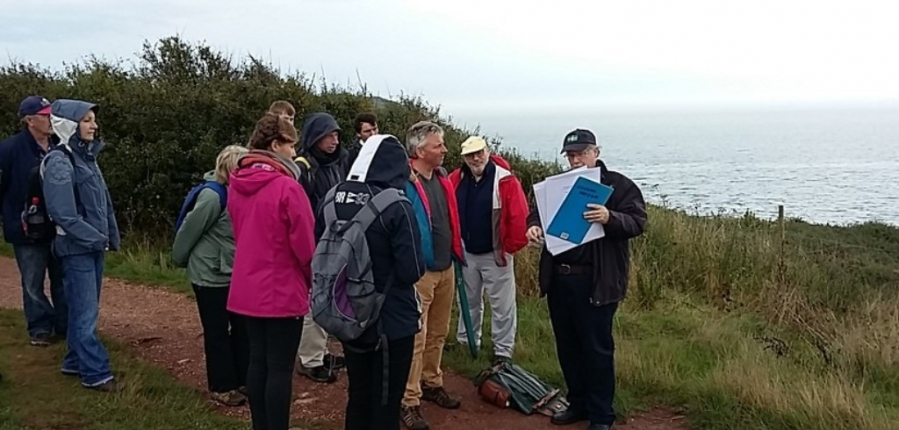Guided walk along the coast military heritage coastal archaeology