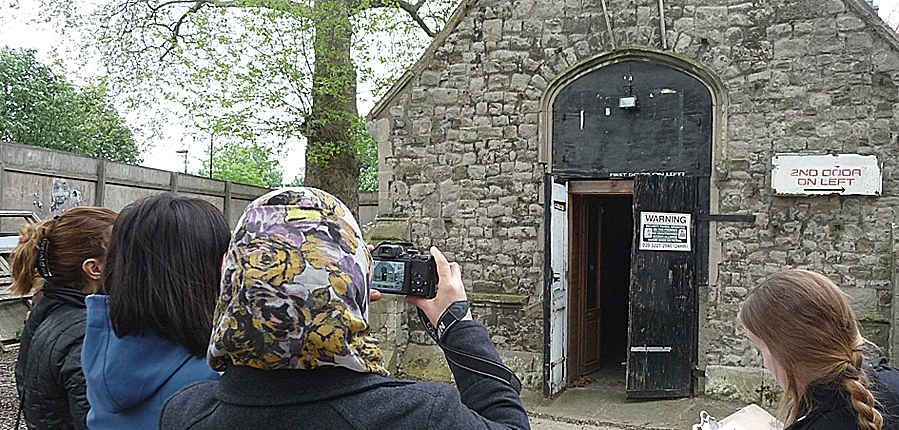 Hackney College built heritage community archaeology project
