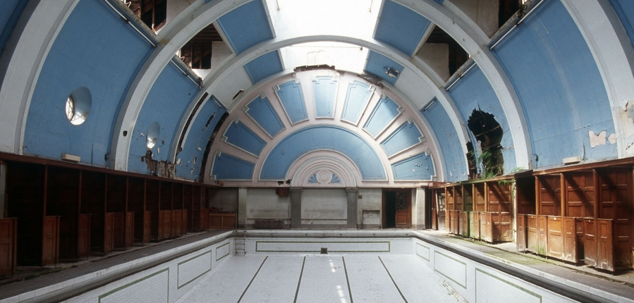 historic swimming pool