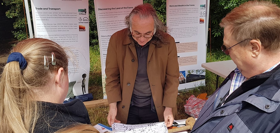 Land of the Fanns pop up display at Hornchurch Military Festival (c) Land of the Fanns