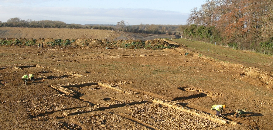 Ketton Quarry, Rutland, archaeological work