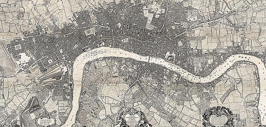 Rocque map 1746