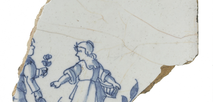 Delftware tile (c) MOLA