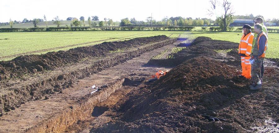 Archaeological work on the Weedon-Flore Road Scheme, Northamptonshire