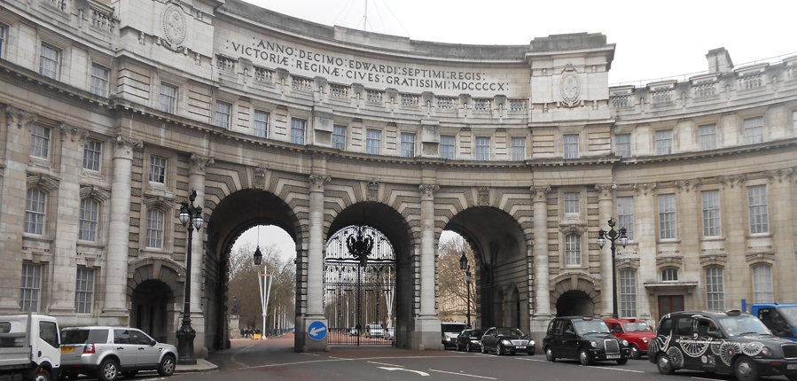 Admiralty Arch, Westminster, London