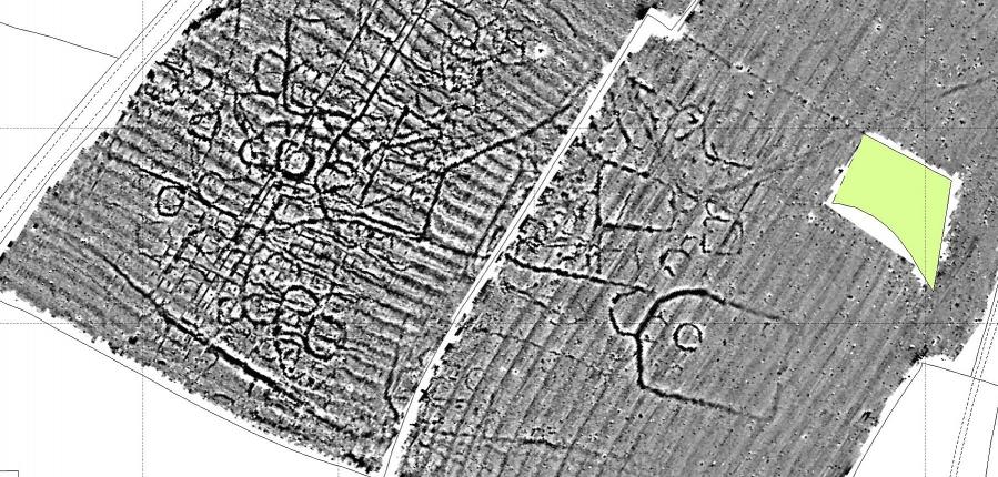 Geophysical survey at Broadwell, Warwickshire