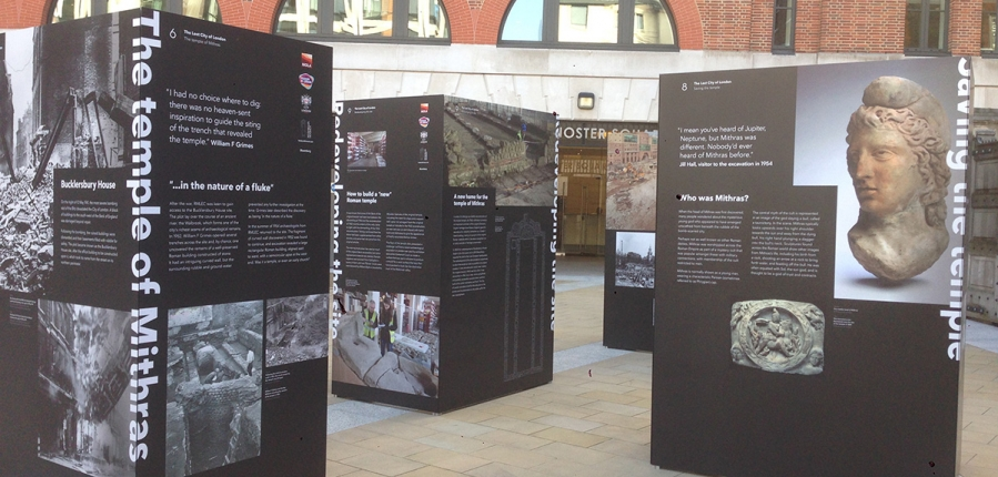 D Exhibition In London : Free exhibition: the lost city of london mola