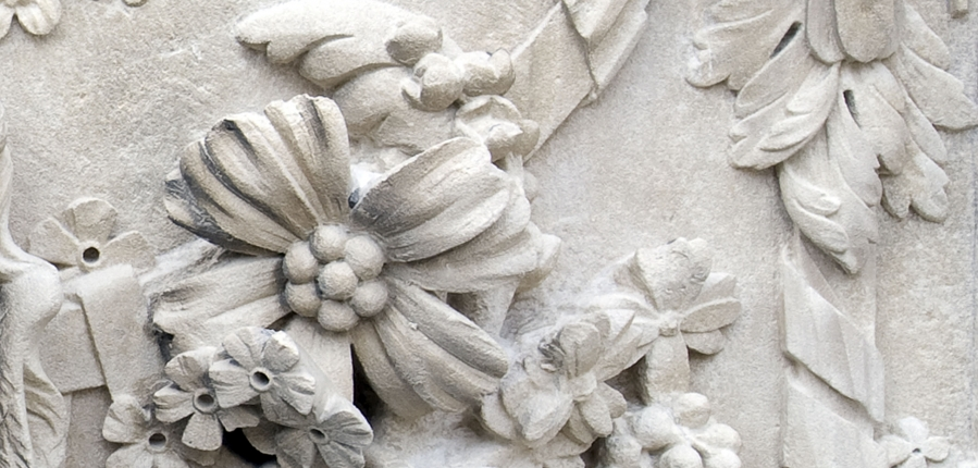Architectural detail from a historic building