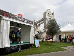 Time Truck at Tower Bridge (c) MOLA