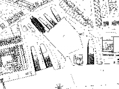 Detail of a c.1808 map showing the Dockyard Basin