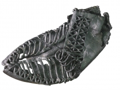 Roman leather carbatina, a shoe