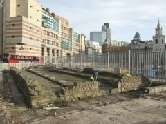 Dismantling the 1960s Temple of Mithras reconstruction
