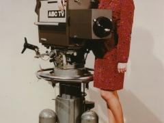 ABC TV Teddington Pre Production Marconi Mk 11V with Sheila Kennedy (c) Brian Scott