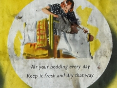 Air your bedding every day, Keep it fresh and dry that way (c) MOLA.jpg