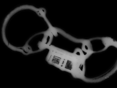 An x-ray of the Great Casterton shackles and padlock (c) MOLA.jpg