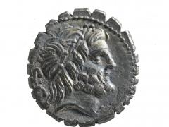 Antonius Balbus silver denarius, 83 – 82 BC, obverse_©MOLA