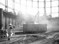 Birmingham's Washwood Heath Gasholder Station historic building recording (c) MOLA