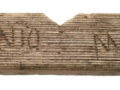 A writing tablet with the earlies known mention of London ever found (c)MOLA