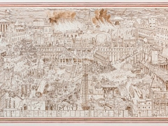 MOLA Adam Dant Budge Row Bibliotheque Painting at Bloomberg