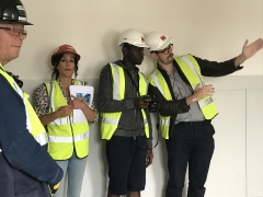 Built Heritage Youth Engagement Programme participants and MOLA mentors