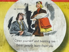 Clean yourself and bedding too, Other people learn from you (c) MOLA.jpg