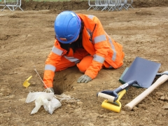 All our Trainees and Graduates are taught how to independently excavate features on site