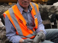 Jay Carver, Crossrail Archaeologist