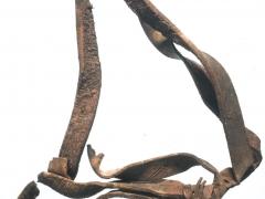 Late 16th century horse harness strap (c) Crossrail