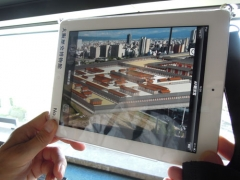 Augmented Reality applications give a dynamic visual representation of the past.