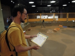 'Excavating the Past' exhibition feature at the Osaka Museum of History.