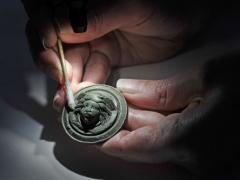 Medusa mount under conservation