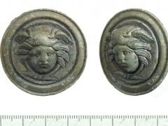 Roman Medusa appliqué from Syon Park