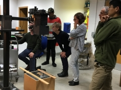 Photographer Andy Chopping gives MAAST participants a masterclass in photographing finds (c) MOLA