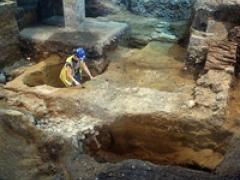 The Roman masonry cellar