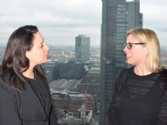 Sally Saadeh (left) and Carlin Fier (right) discuss heritage and what it means to their organisations