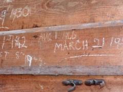 Graffiti from Knole