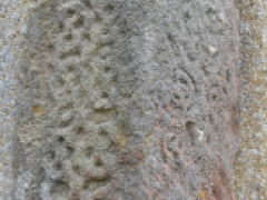 Anglo-Saxon carved stone from Stowe Nine Churches, Northamptonshire (c) MOLA.png