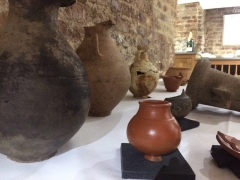 Wine tasting and Roman History at Berry Bros. and Rudd (c) MOLA