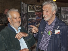Former employees of Teddington Studios share their memories at the event (c) MOLA