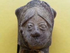 Roman ceramic head