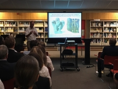 Archaeological artefacts presented by Dr John Pearce
