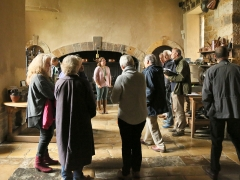 MOLA's Built Heritage team tour Canons Ashby in Northamptonshire (c) MOLA